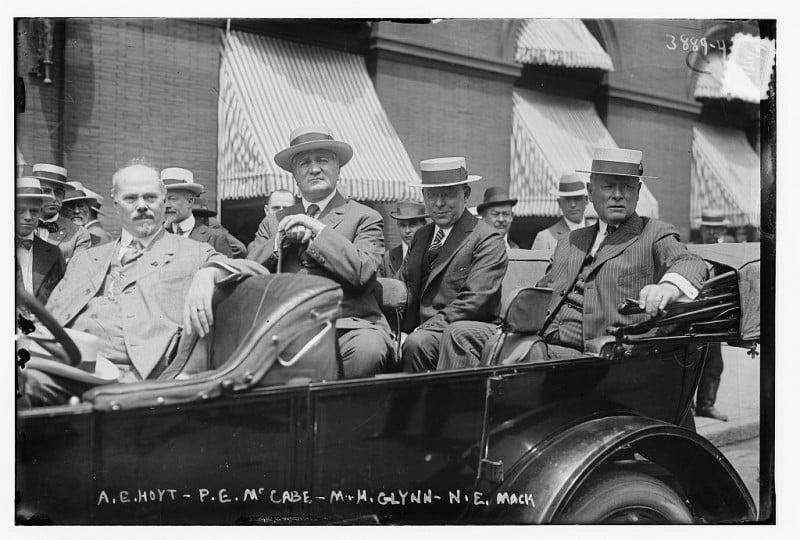 A.E. Hoyt, P.E. McCabe, M.H. Glynn, N.E. Mack (LOC)