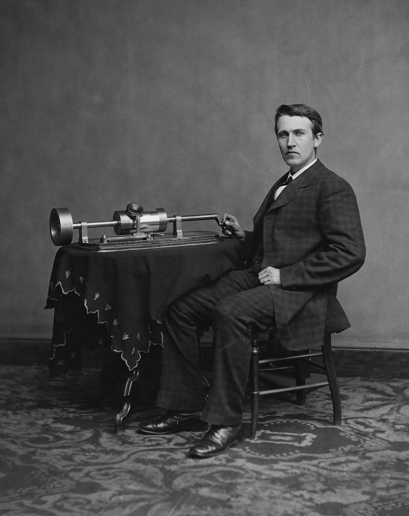 Edison och fonografen