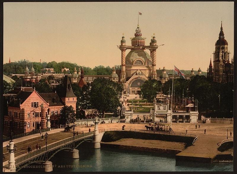resebilder stockholm