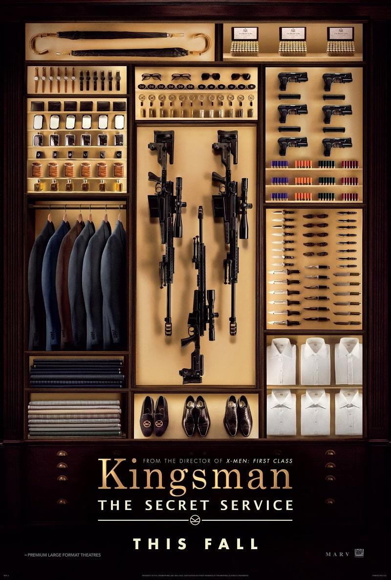 kingsman garderob