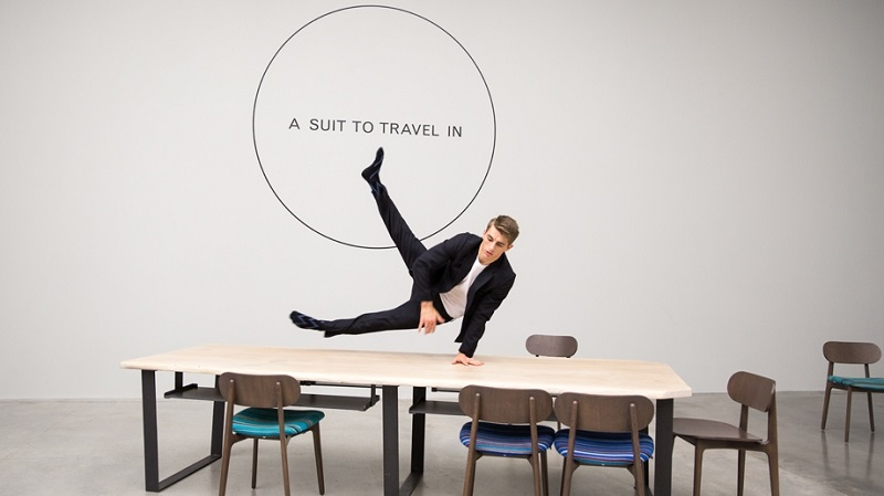 paul smith a suit to travel in