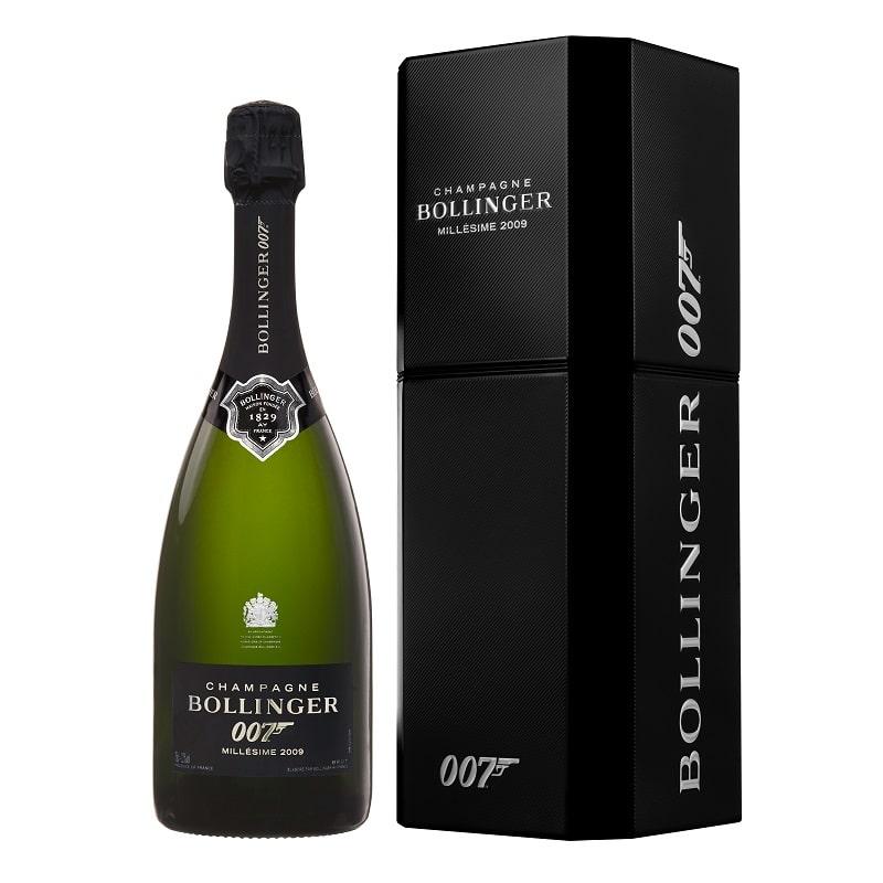 Bollinger Spectre Limited Edition Bottle_gift box