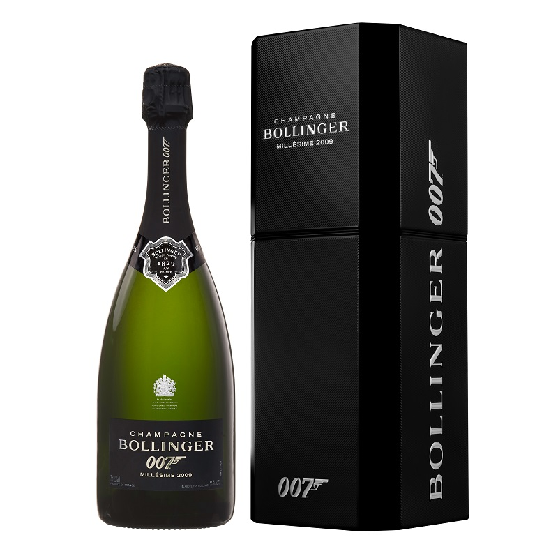 Bollinger Spectre Limited Edition Bottle_gift box