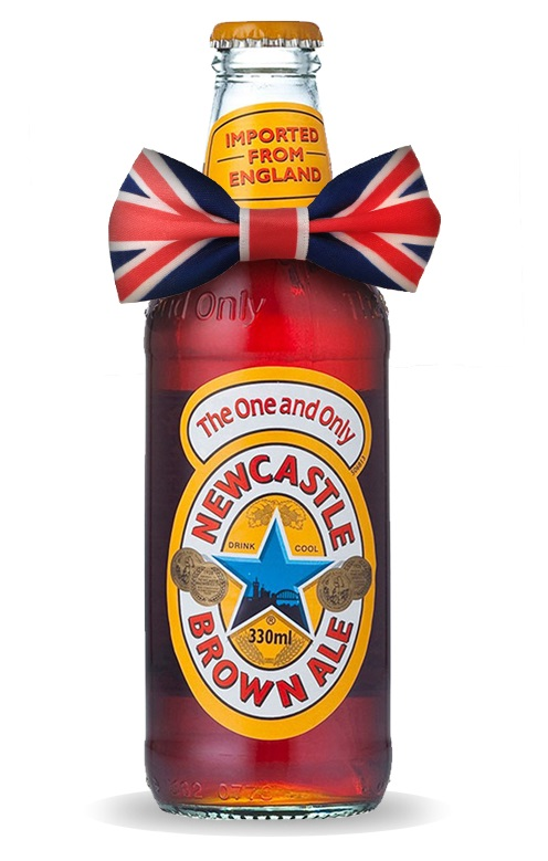 newcastle brown ale bow tie