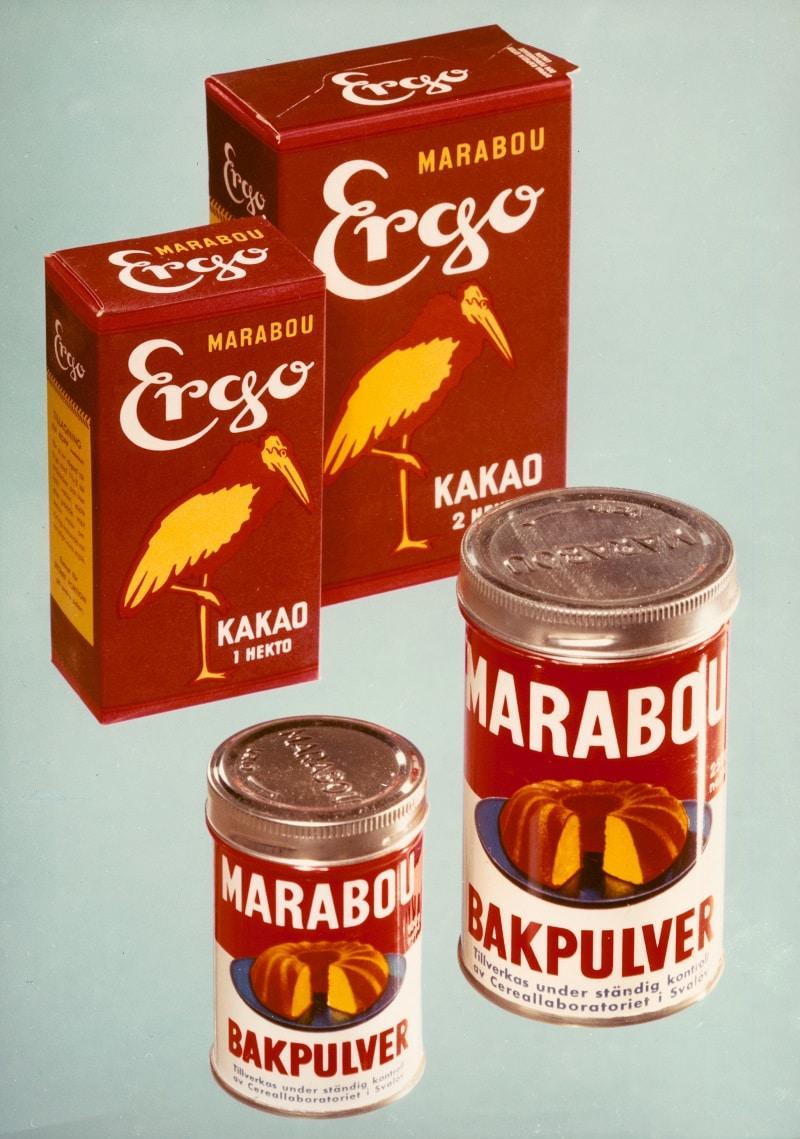 Marabou Ergo Cakao, 1959.