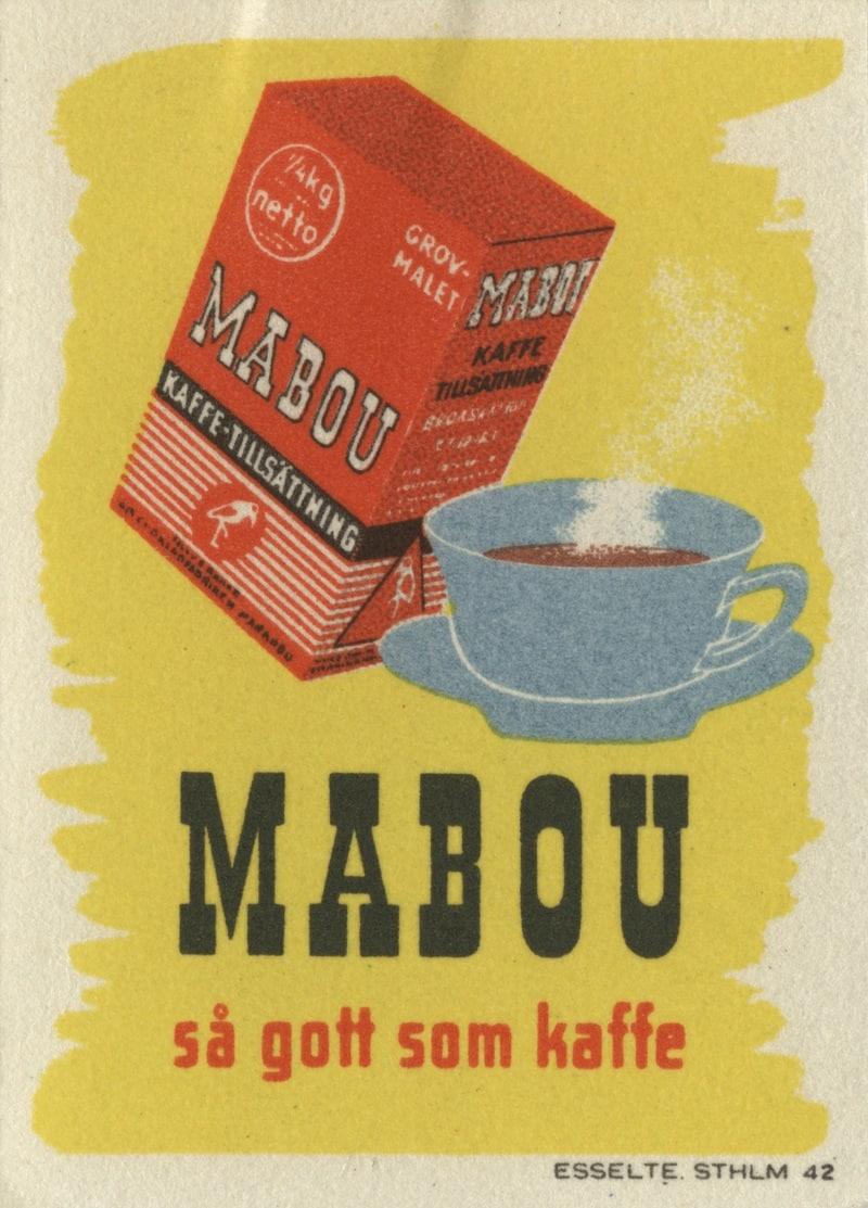 Reklambild för Mabou, 1945