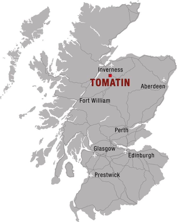 tomatin+map