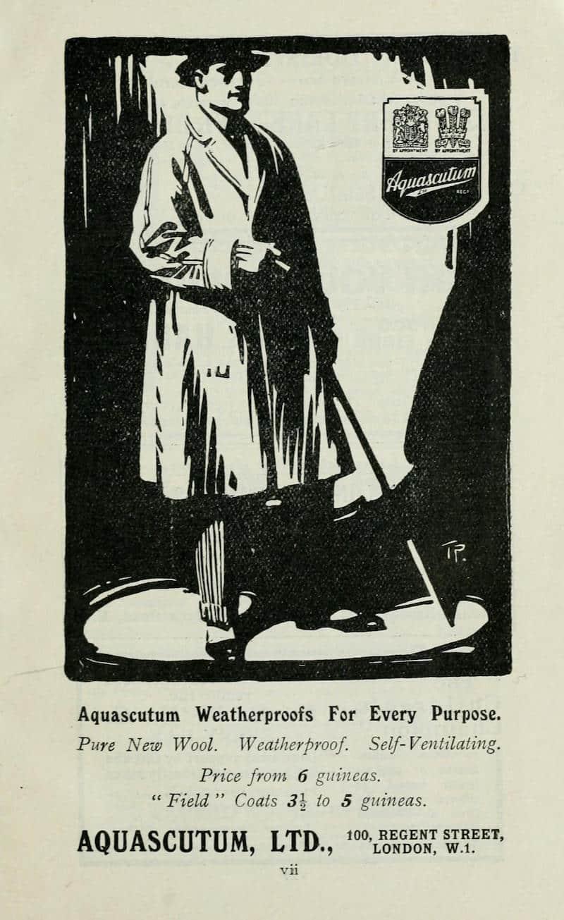aquascutum vintage ad