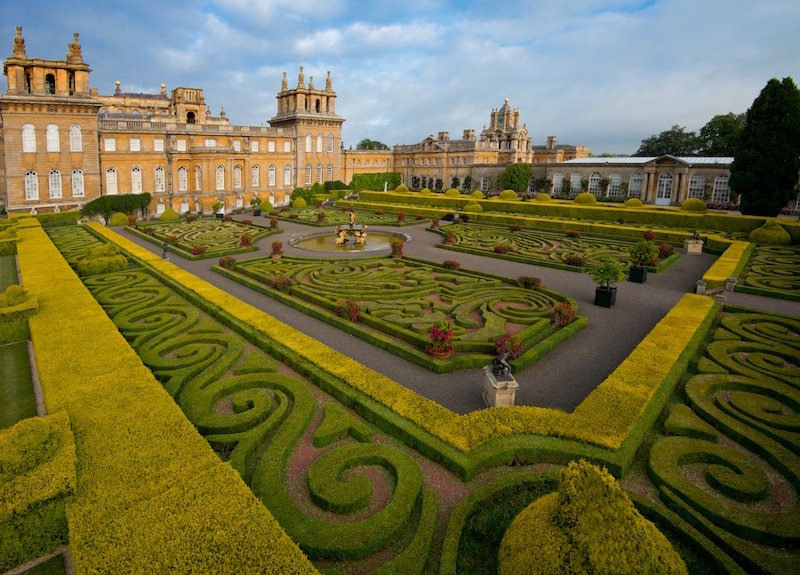 Blenheim Palace - Park and Formal Gardens