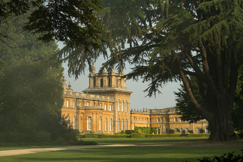 Blenheim Palace-Park and Gardens-South Lawn