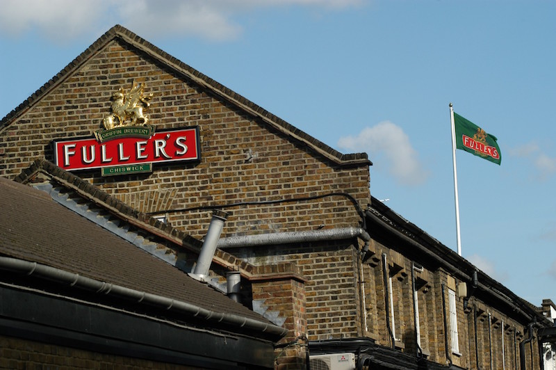 Fuller's brewery