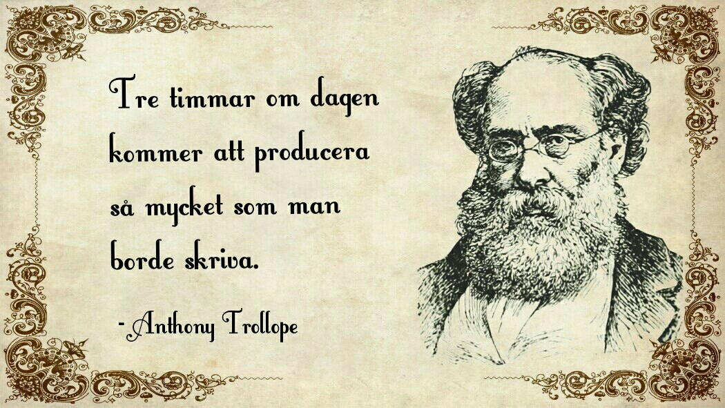 anthony trollope citat