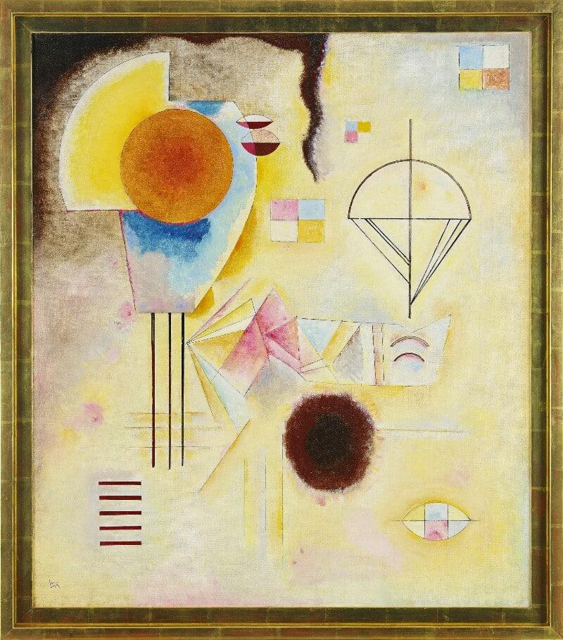 Kreis u. Fleck av Wassily Kandinsky