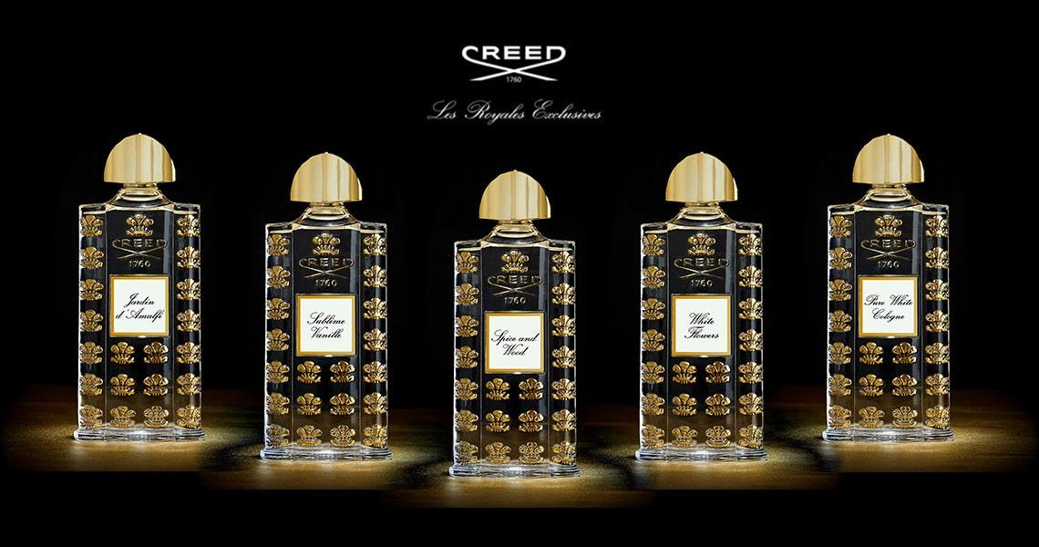 de lyxigaste parfymerna