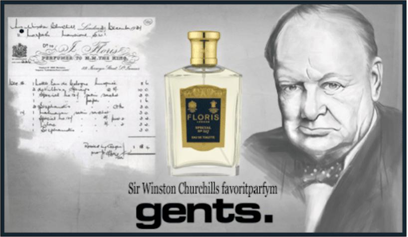 Winston Churchills favoritparfym