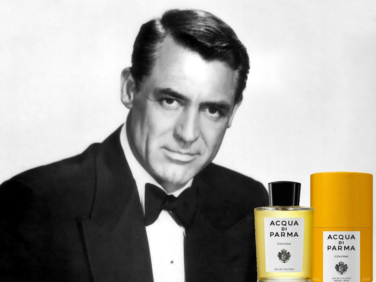 Cary Grant's favourite scent