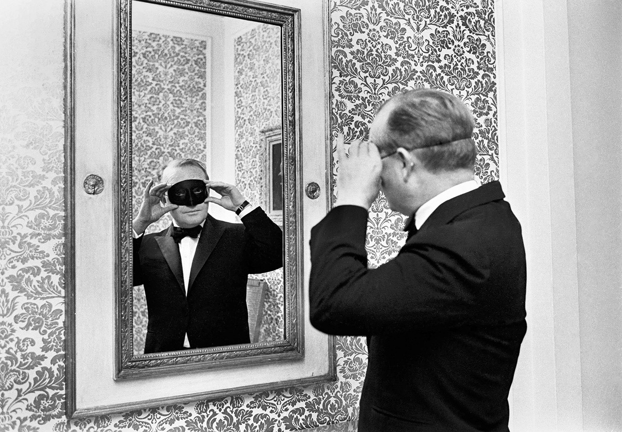 Truman Capote in Dunhill Tuxedo