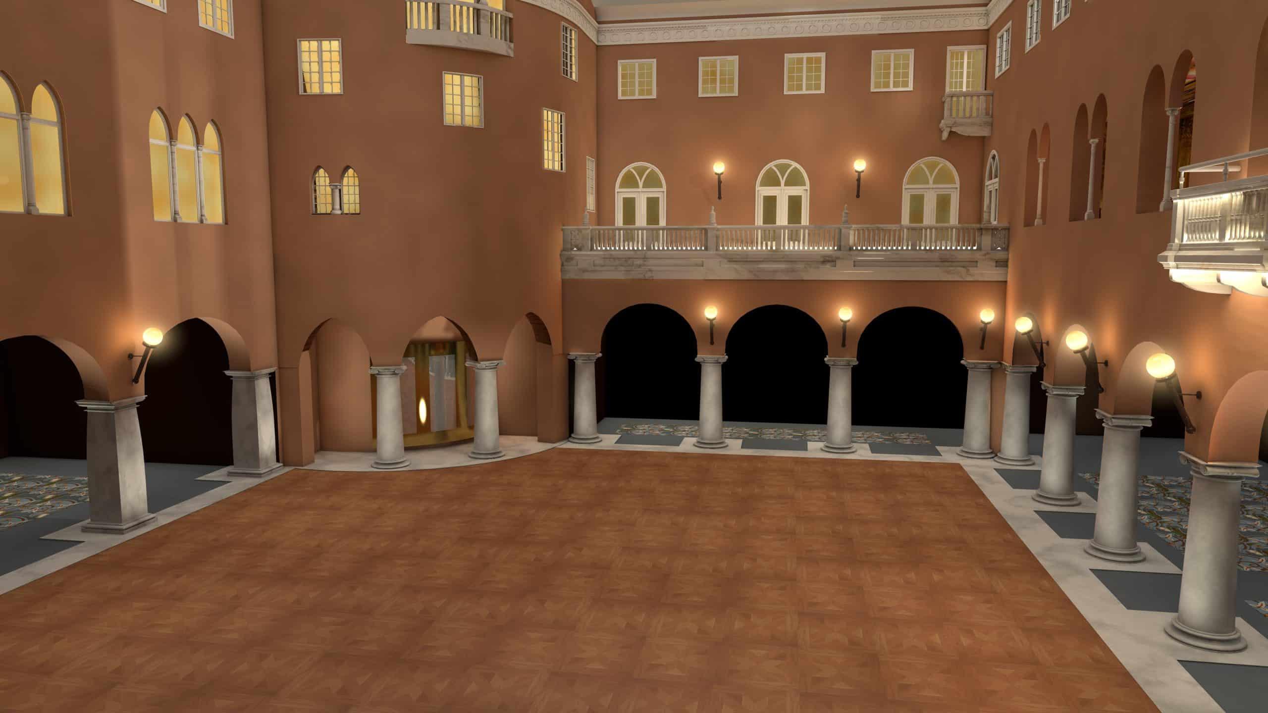Vinterträdgården vid Grand Hotel renovering