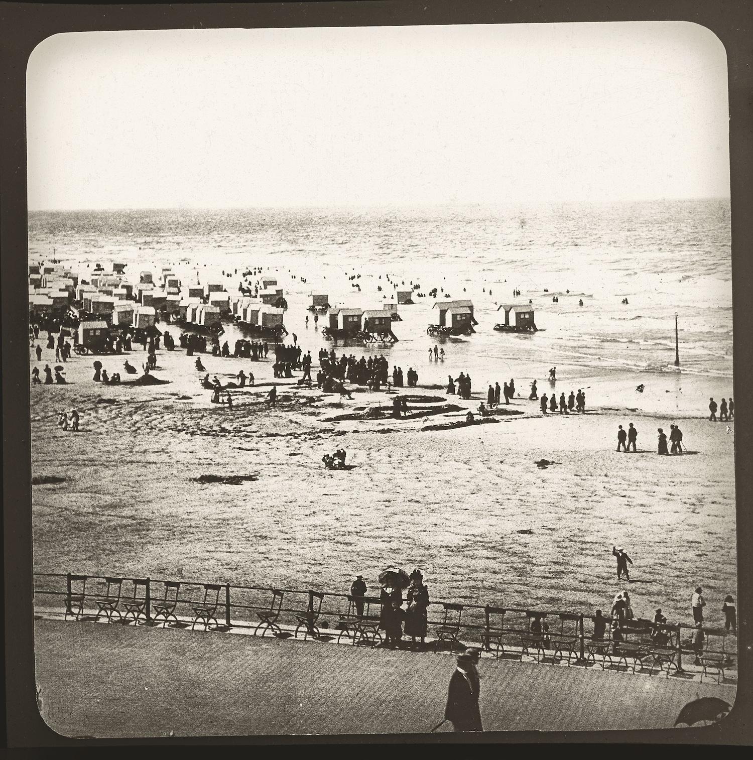 Ostende badstrand