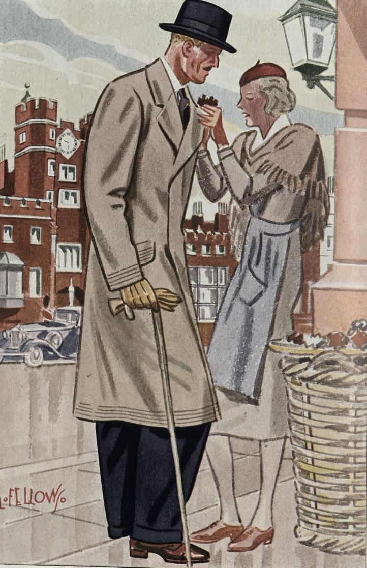 illustration walking cane