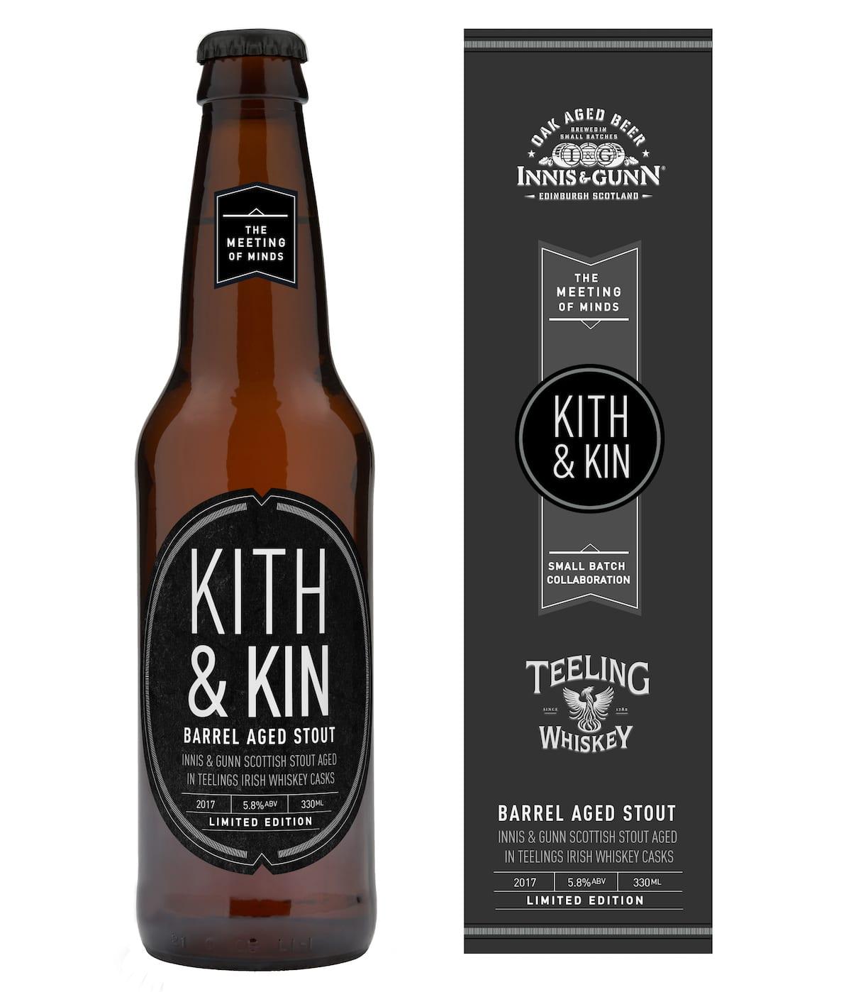 Innis & Gunn Kith & Kin Teeling Cask.