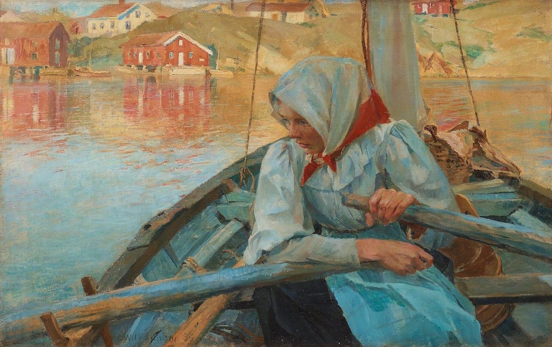 carl wllhelmsson fiskarflicka