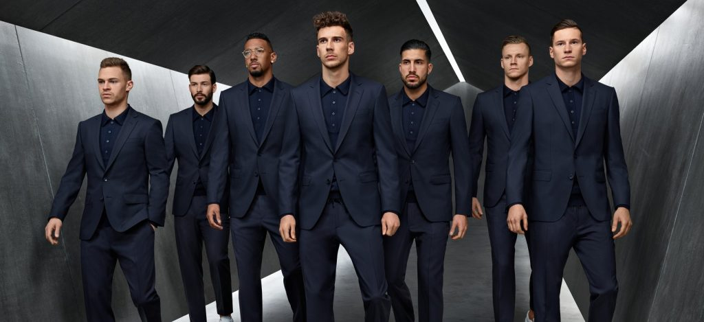 hugo boss germany world cup suit 2018
