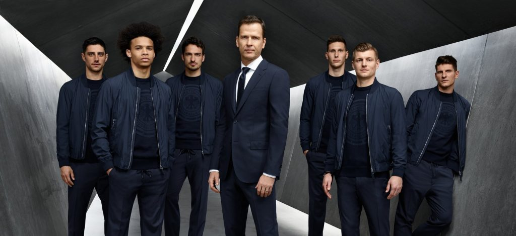 germany world cup suit 2018 hugo boss
