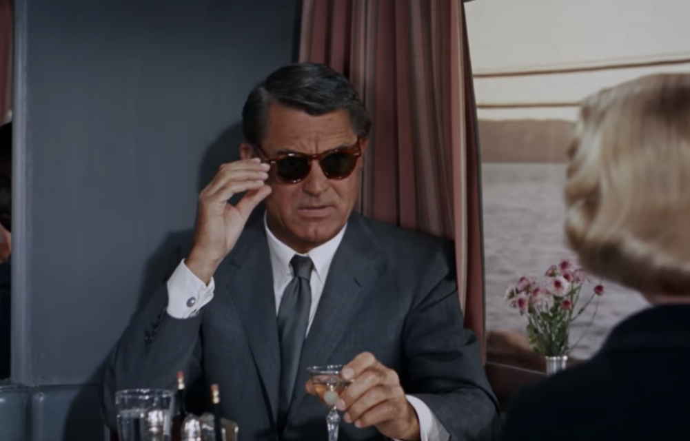 Cary Grant style North by Northwest 1959