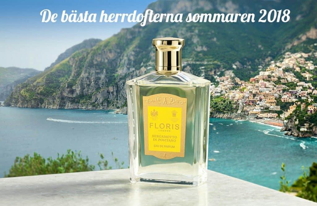 de bästa parfymerna dofterna för män sommaren 2018