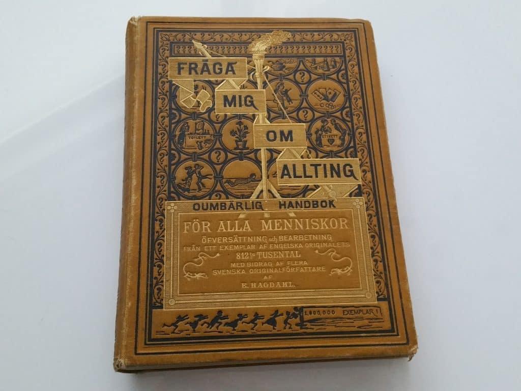 gamla etikettböcker från 1800-talet
