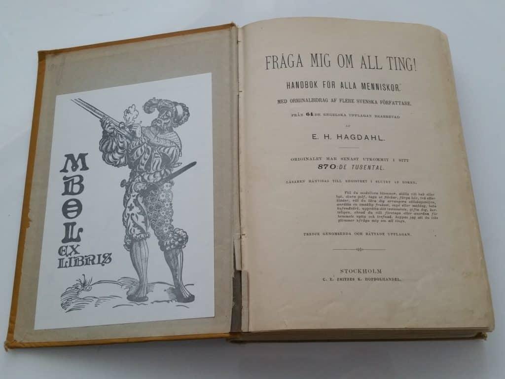 etikettböcker från 1800-talet