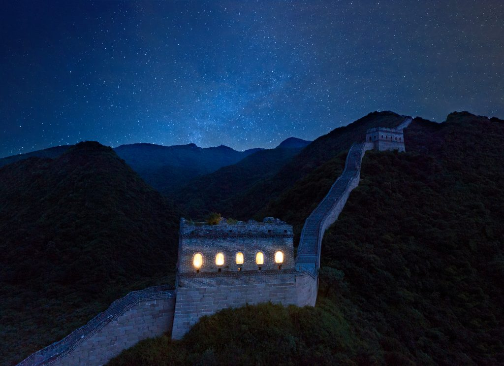 stay the night in the great wall in china airbnb