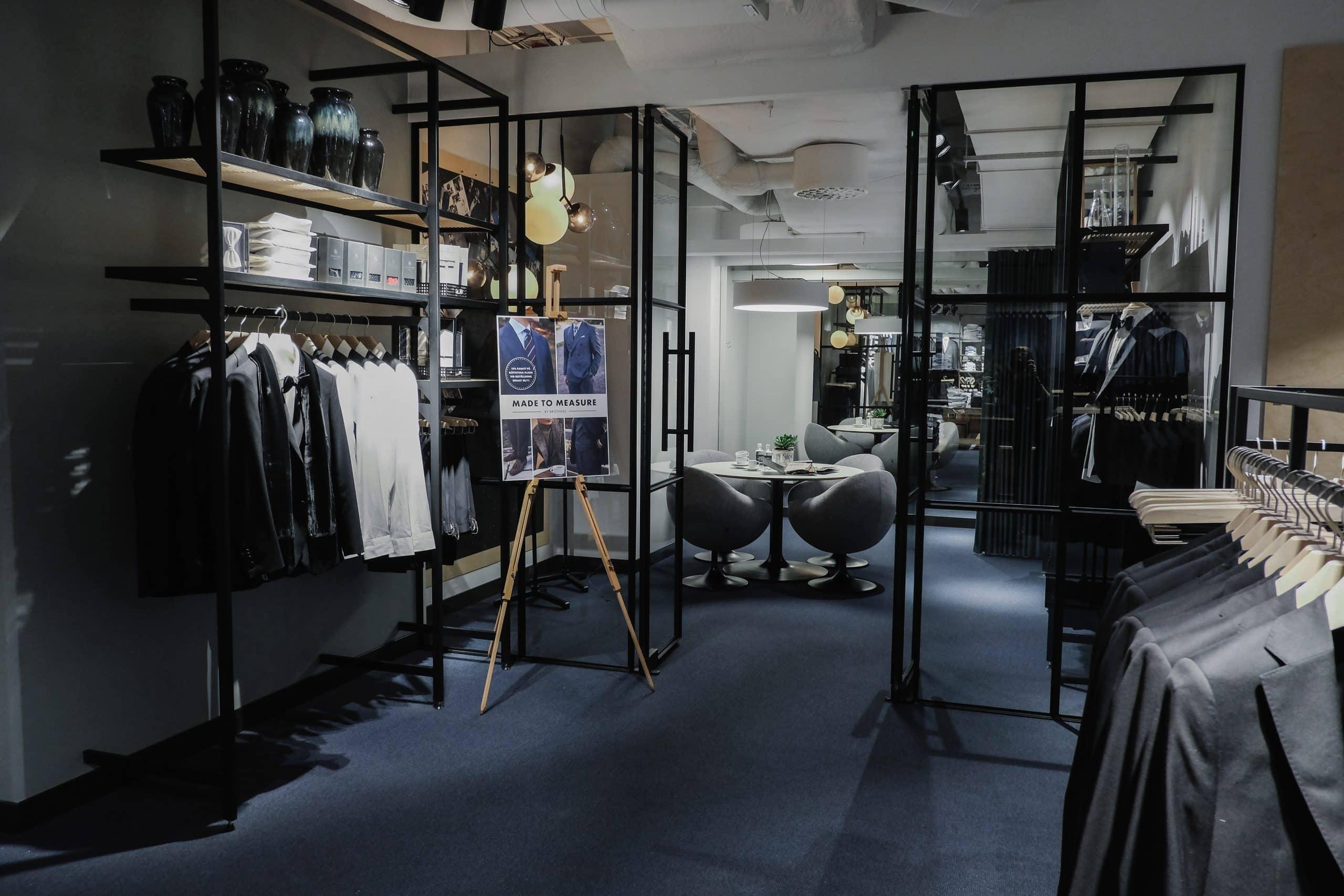 största brothers butiken i Sverige i nya gallerian
