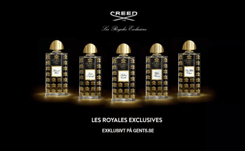 Creed parfymer bästa herrparfymerna hösten vintern 2018