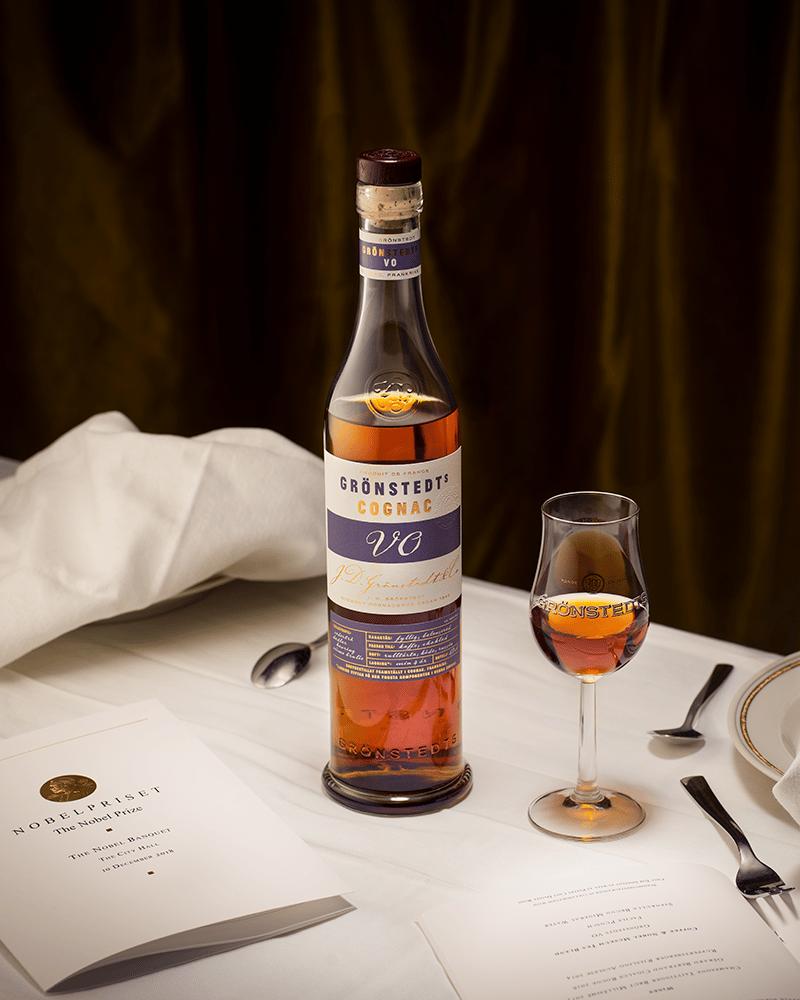 årets cognac på nobelmiddagen 2018