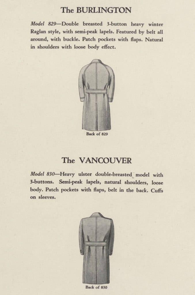 klassiska modeller på jackor för män