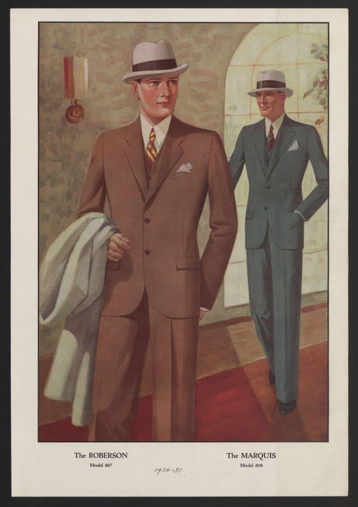 klassiska kläder för män