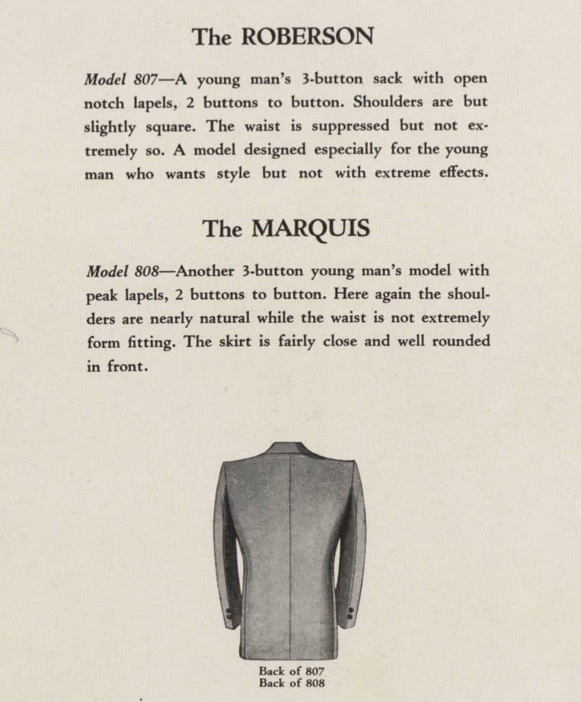 klassiskt mode för män