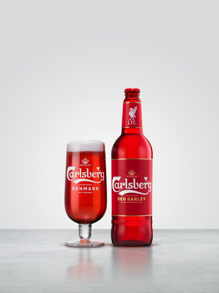 carlsberg liverpool all red
