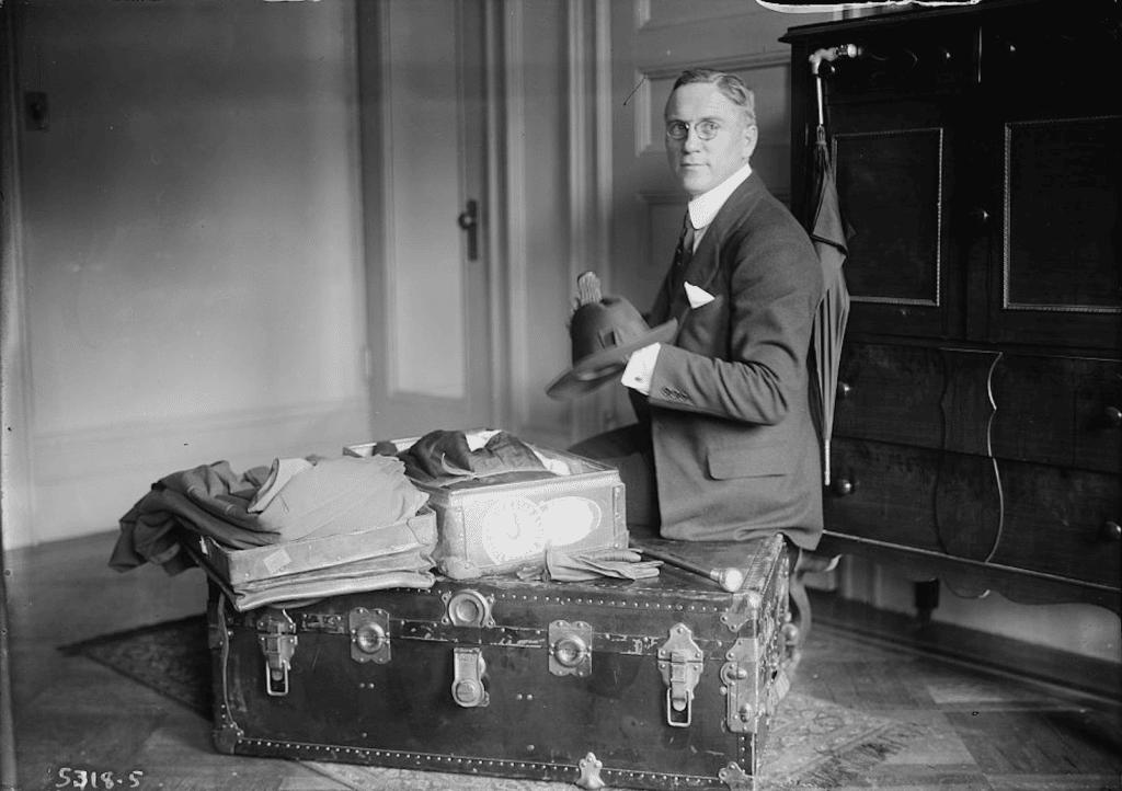 resande i början av 1900-talet