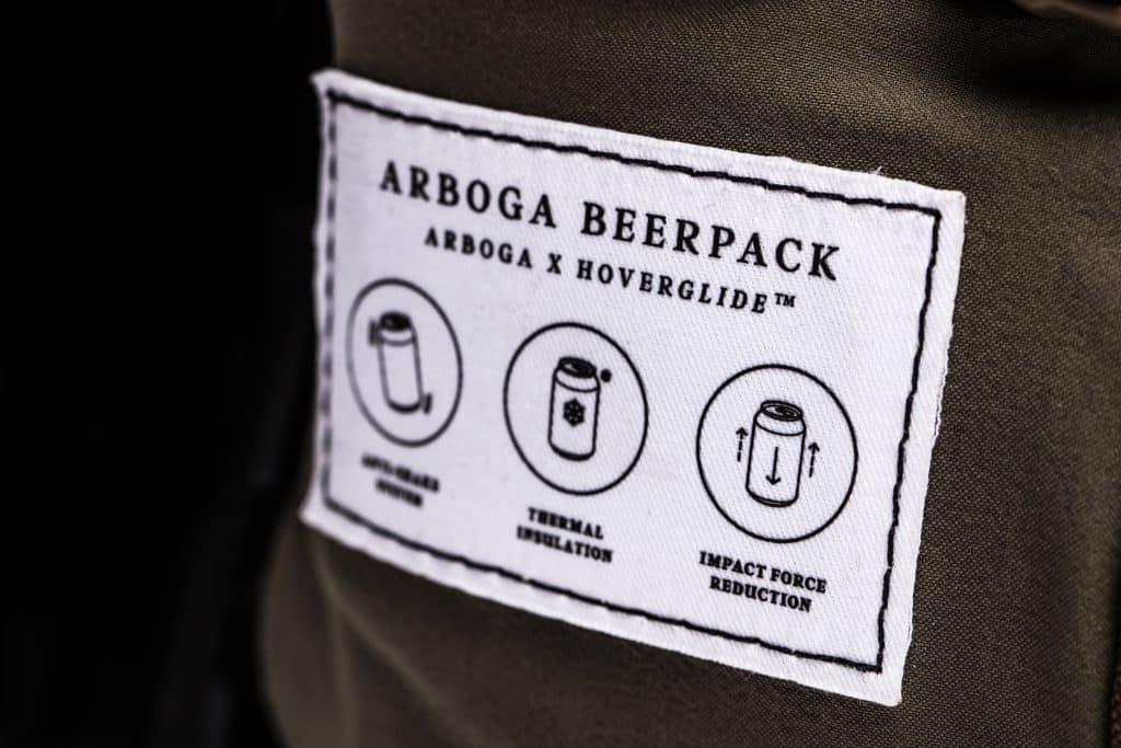 anti-skak teknik ryggsäck öl