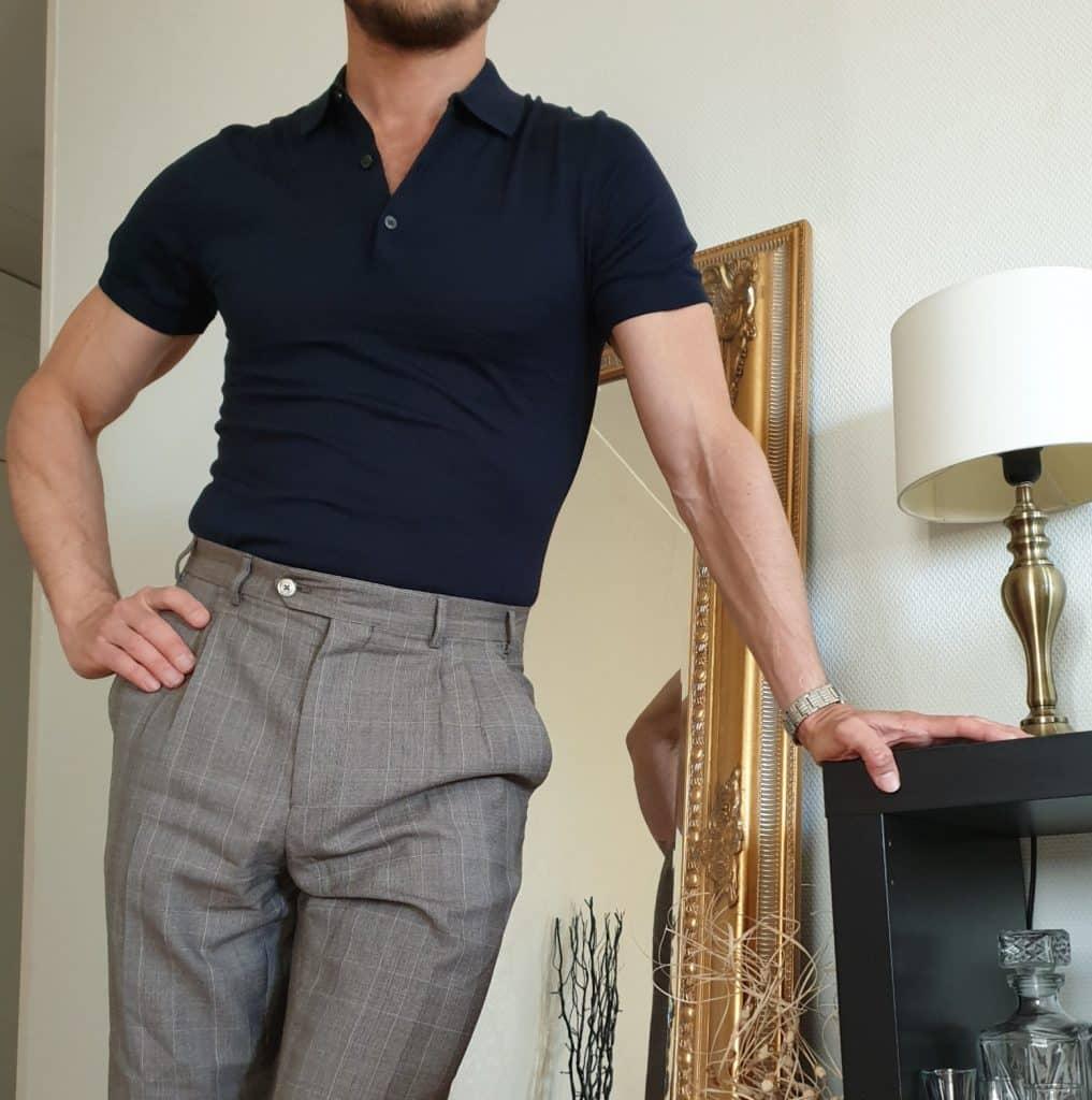 sommarens färger pikétröjor mode för män