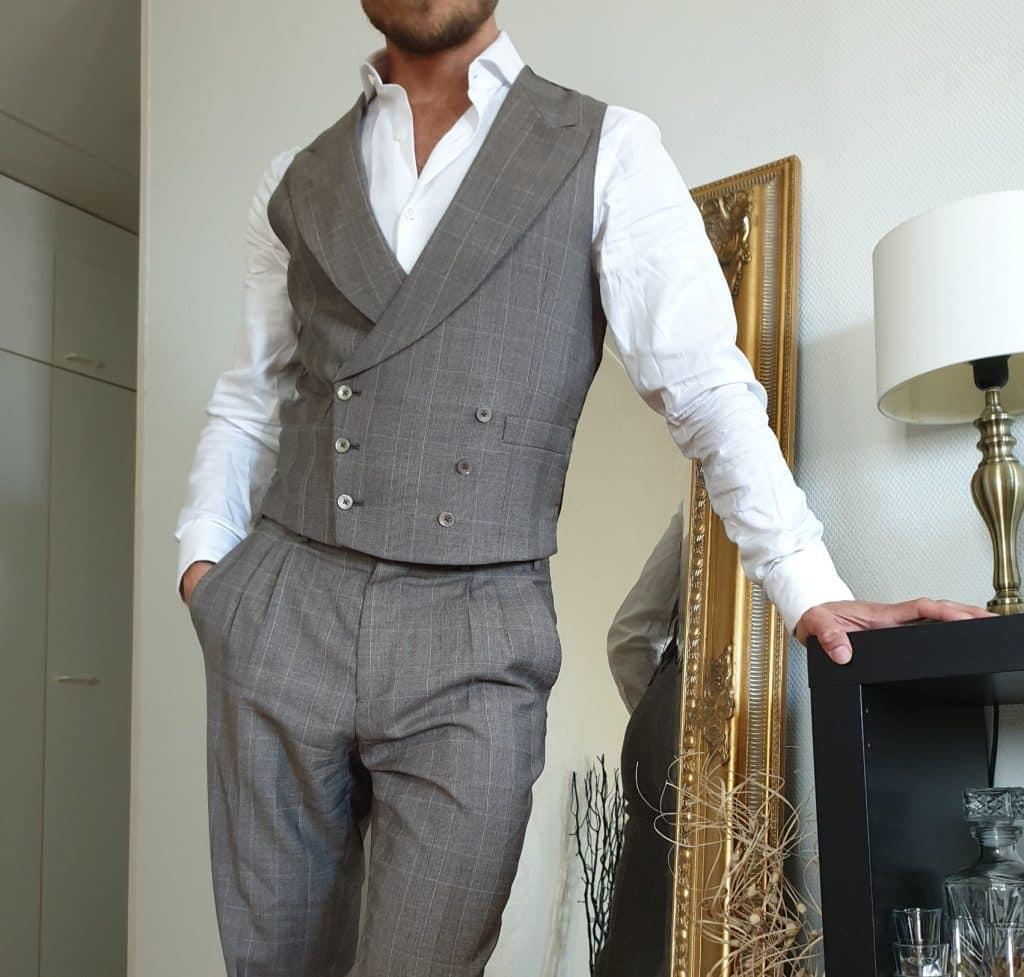 sommarens mode för män kostymer