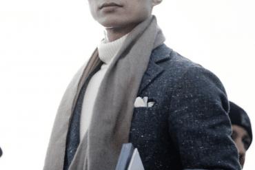 snygga sätt att bära halsduk