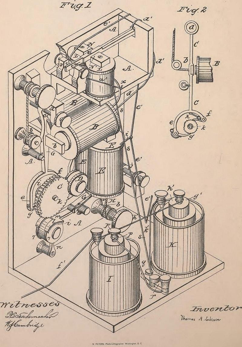 edison patent 1969