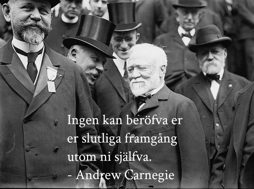 Andrew Carnegie citat