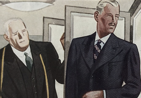 1930-talets mode för män