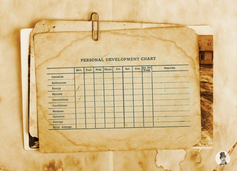 personal development chart
