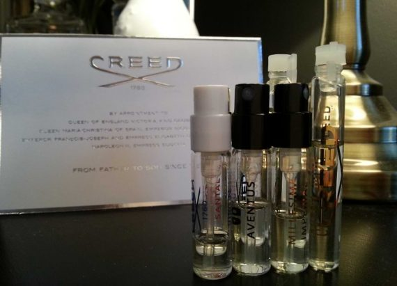 creed parfym test